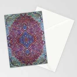 Unusual Antique Rug Stationery Cards
