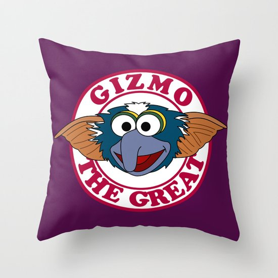 Gizmo the Great Throw Pillow