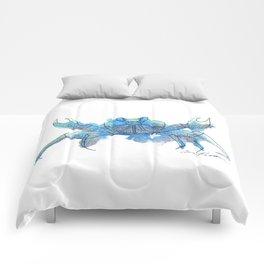 Watercolor Crab Comforters