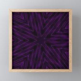 Eggplant Purple Framed Mini Art Print