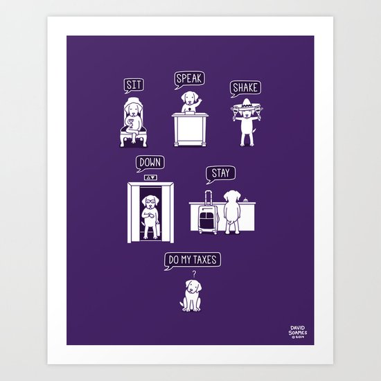 Common Commands Art Print