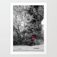 {Christmas Post} Art Print