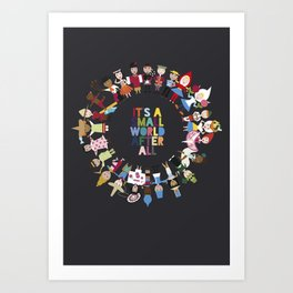 It's a Small World  Art Print
