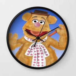 Fozzie Wall Clock