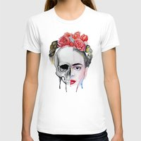 frida kahlo T-shirts featuring Frida Kahlo  by Karol Gallegos Carrera