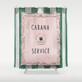 Press For Cabana Service Shower Curtain