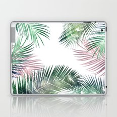 palm leaves tropical Laptop & iPad Skin