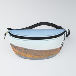 Delaware River in Autumn Fanny Pack