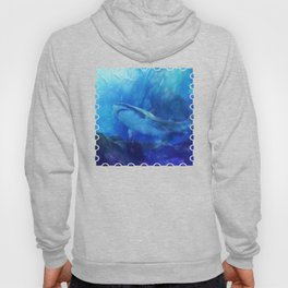 Make Way for the Great White Shark King  Hoody