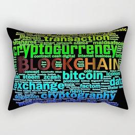 Cryptography Rectangular Pillow