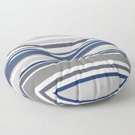 Blue stripes Floor Pillow