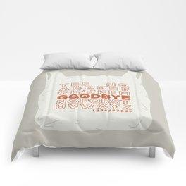 Plastic Bag Ouija Board Comforters