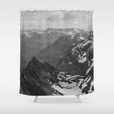 Archangel Valley Shower Curtain