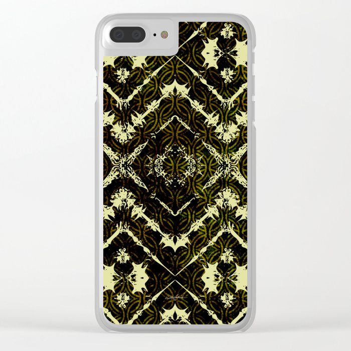 Inkatha Gold Clear iPhone Case
