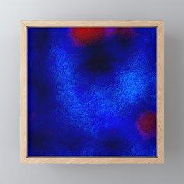 The sky behind the glass 2 Framed Mini Art Print