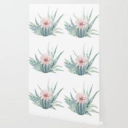 Petite Cactus Echeveria Wallpaper