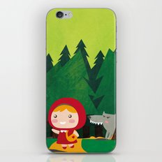 Little Red Riding Hood iPhone & iPod Skin