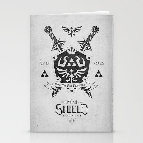 Legend of Zelda - The Hylian Shield Foundry Stationery Cards