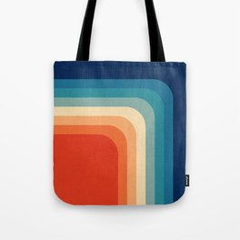 Retro 70s Color Palette III Tote Bag