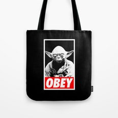 Obey Yoda - Star Wars Tote Bag