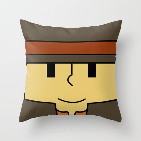 Minimal Layton Throw Pillow