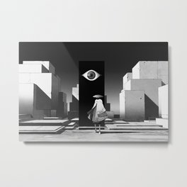 旅行者   Traveler Metal Print