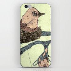 Bird Etching iPhone & iPod Skin