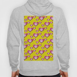 herzen collage Hoody