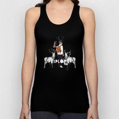 The Wilderness Unisex Tank Top