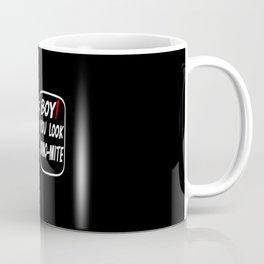 Dinosaur Flirting Quote Coffee Mug