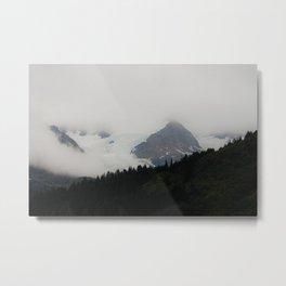 Glacier | Landscape Photography Metal Print