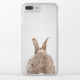 Rabbit Tail - Colorful Clear iPhone Case