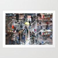 Amsterdam 35 Art Print