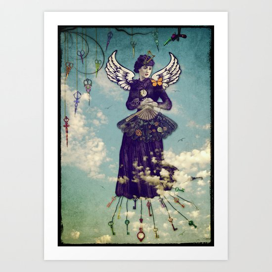 The Cost of Flying Art Print