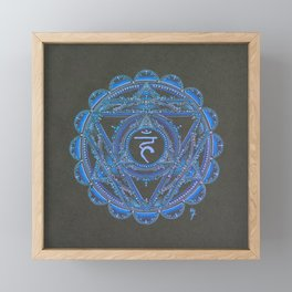 Throat Chakra Framed Mini Art Print