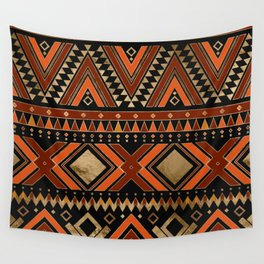 Aztec Ethnic Pattern Art N7 Wall Tapestry