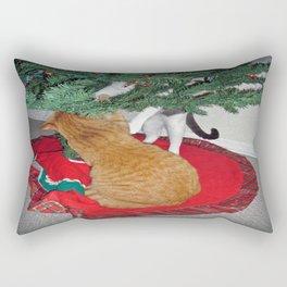 12 cats a-climbing Rectangular Pillow
