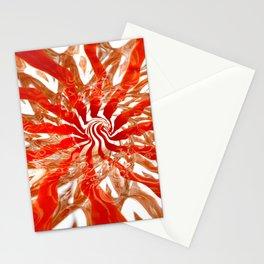 Pattern #2 - Orange Swirl Stationery Cards
