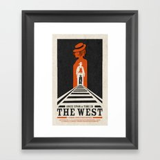 Once Upon a TIme in the West Framed Art Print