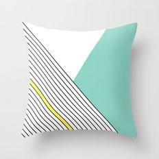 MINIMAL COMPLEXITY Throw Pillow