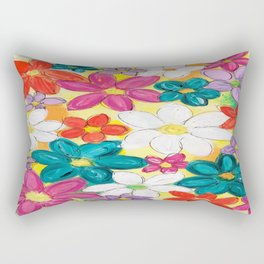 Valley of Flowers Rectangular Pillow