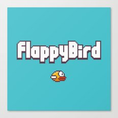 Flappy Bird Canvas Print