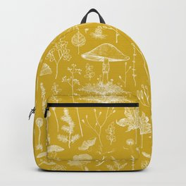 Woodland Walk / Mustard Backpack