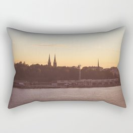 Postcard from Tallinn Rectangular Pillow