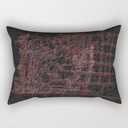 Map of UC Rectangular Pillow