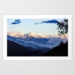 Mount Baldy Art Print
