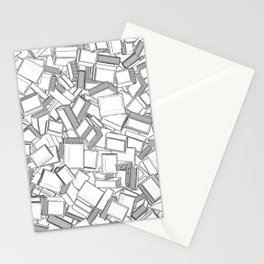 The Book Pile II Stationery Cards