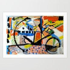 Calcina e carriole  Art Print