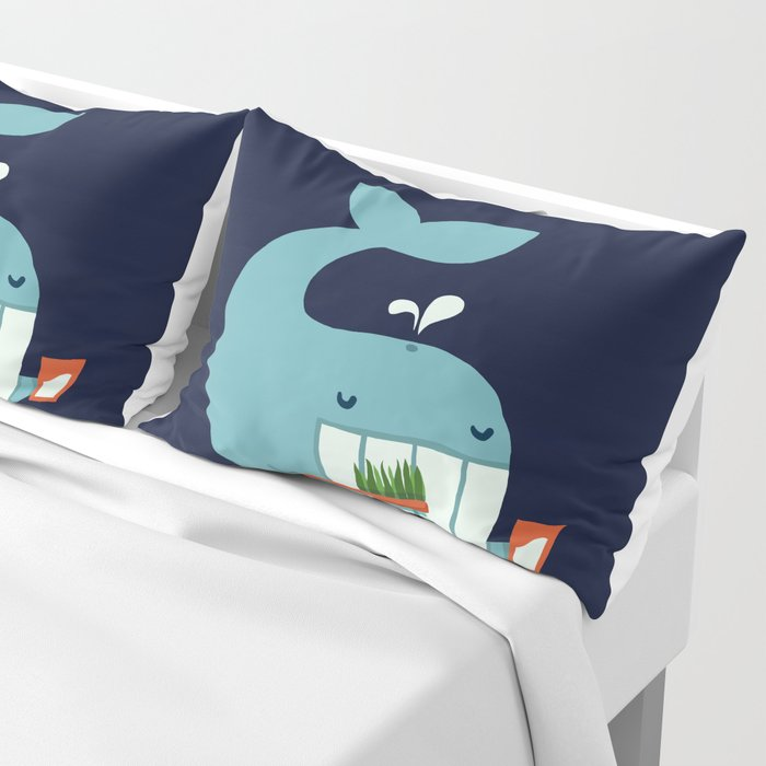 Brush Your Teeth Pillow Sham