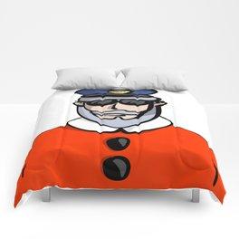 Santa Cop Comforters